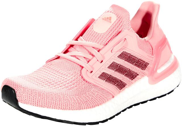 adidas Ultraboost 20 Zapatillas Mujer, glory pink/maroon/signal coral